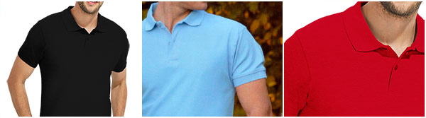 Men's polo shirt, short sleeve