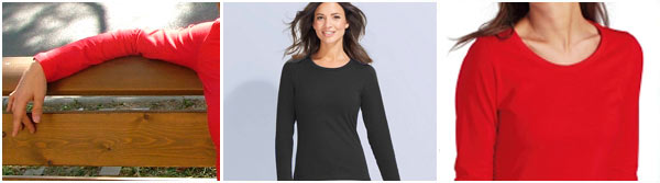 Women, long sleeve